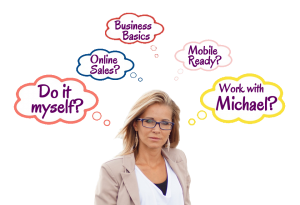 Business Basics and Website Design with Michael's Graphics