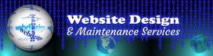 Website Design and Maintenance Services from Michael's Graphics